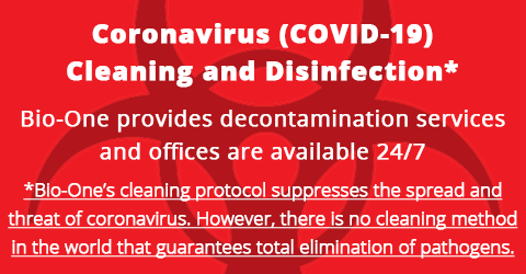 Coronavirus cleaning and disinfection in Vacaville, California